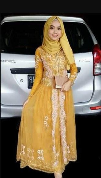 Bentuk Model Baju Pengantin Muslim Modern Budm √25 Model Kebaya Modern Pink Rok Batik Merak Model Baju