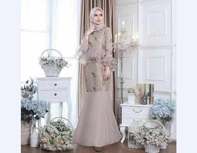 Bentuk Model Baju Pengantin Muslimah Terbaru H9d9 Inspirasi Gaun Kebaya Duyung