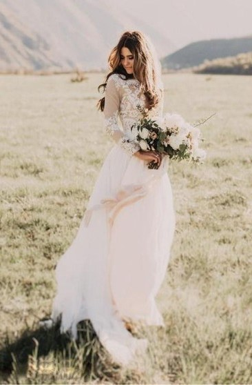 Bentuk Model Baju Pengantin Muslimah Terbaru Kvdd Cheap Bridal Dress Affordable Wedding Gown