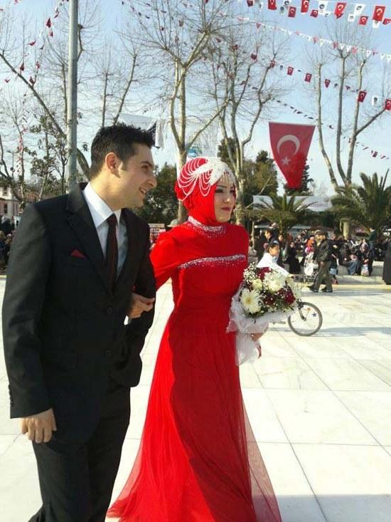 Bentuk Pasangan Gaun Pengantin Muslim Bqdd 165 Cute and Romantic Muslim Marriage Couples [updated]