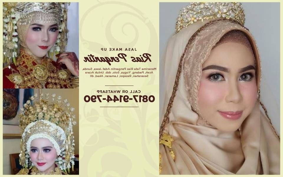 Bentuk Sewa Gaun Pengantin Muslimah Di solo 4pde Harga Promo Wa 0817–9144–790 — Paket Make Over Rias