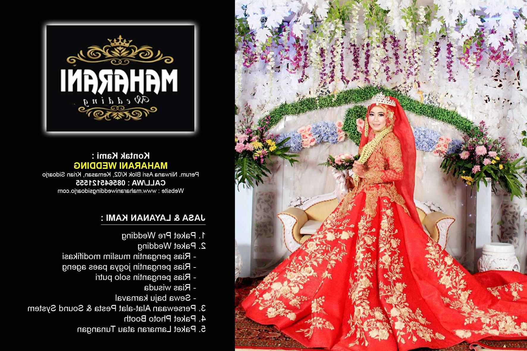 Bentuk Sewa Gaun Pengantin Muslimah Di solo Rldj Maharani Wedding Murah Sidoarjo Wa