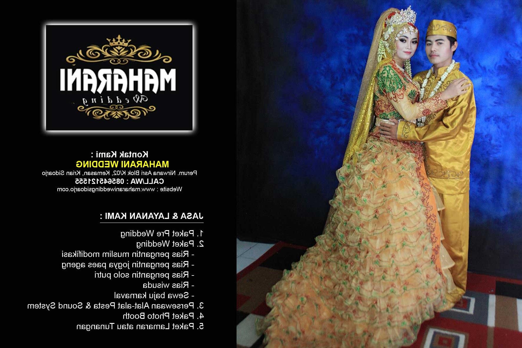 Bentuk Sewa Gaun Pengantin Muslimah Di solo Wddj Maharani Wedding Murah Sidoarjo Wa