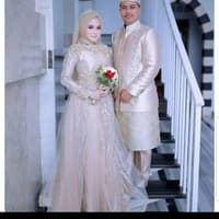 Bentuk Sewa Gaun Pengantin Muslimah Drdp Jual Gaun Pengantin Hijab Murah Harga Terbaru 2019