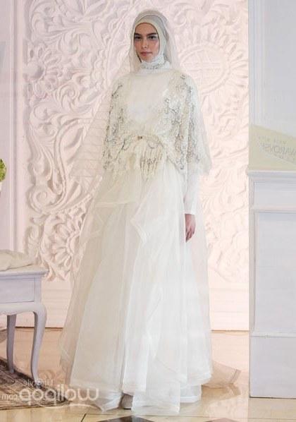 Bentuk Sewa Gaun Pengantin Muslimah Ipdd Mulai Dari Rp 7 Juta Ini Kisaran Harga Baju Pengantin Syar I