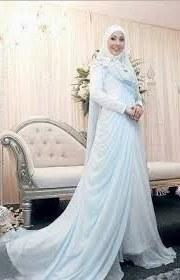 Bentuk Sewa Gaun Pengantin Muslimah Murah Drdp Pinterest