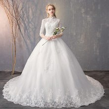 Contoh Gaun Pengantin Muslimah Warna Pink 9ddf Popular Elegant Muslim Wedding Dress Buy Cheap Elegant