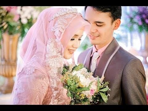 Contoh Gaun Pengantin Muslimah Warna Pink Tldn Videos Matching Indonesian Muslim Wedding Ceremony