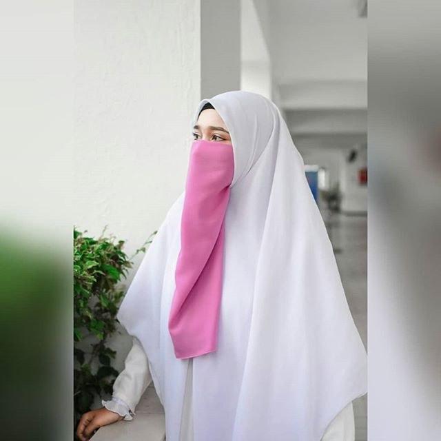 Contoh Gaun Pengantin Muslimah Warna Pink Xtd6 Niqaab Hashtag On Instagram S and Videos Picnano