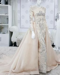 Contoh Gaun Pengantin Muslimah Warna Pink Y7du List Of Gaun Pengantin Muslim Peach Images and Gaun