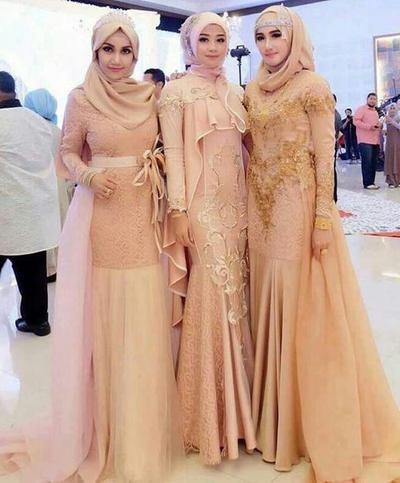 Design Baju Ke Pesta Pernikahan Muslimah 87dx Ini Dia Trend Kebaya Muslimah Modern Untuk Pergi Ke Pesta