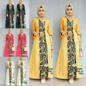 Design Baju Ke Pesta Pernikahan Muslimah Etdg 55 Baju Pesta Batik Muslimah Paling Mewah Nan Elegan