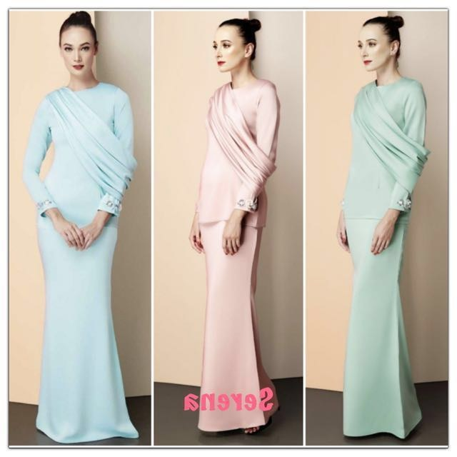 Design Baju Pengantin Muslim Couple Ftd8 Sale Modern Baju Kurung Women S Fashion Muslimah Fashion