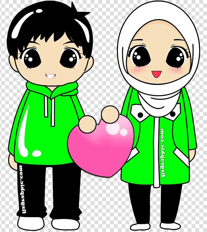 Design Baju Pengantin Muslim Couple Zwdg Marriage In islam Transparent Background Png Cliparts Free