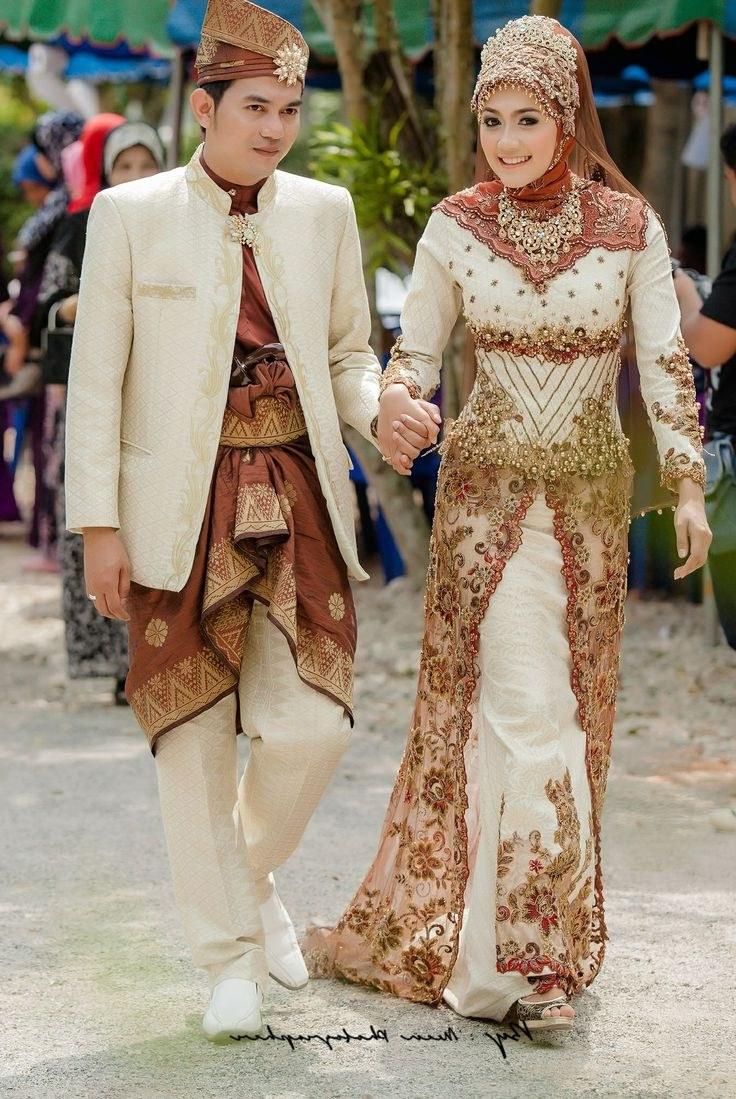 Design Baju Pengantin Muslim Untuk orang Gemuk Mndw Syafiq Sapethensem On Pinterest