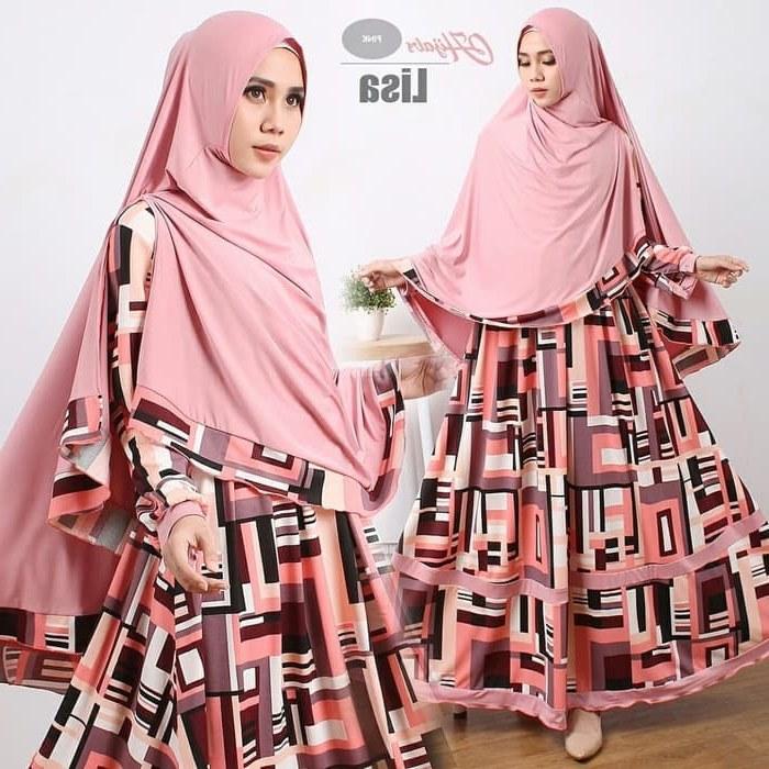 Design Baju Pengantin Muslimah 2017 J7do Jual Terbaru Baju Busana Muslim Gamis Lorena Syari Dusty Plus Hijab No Ped Kab Bogor Sinta Fashionita