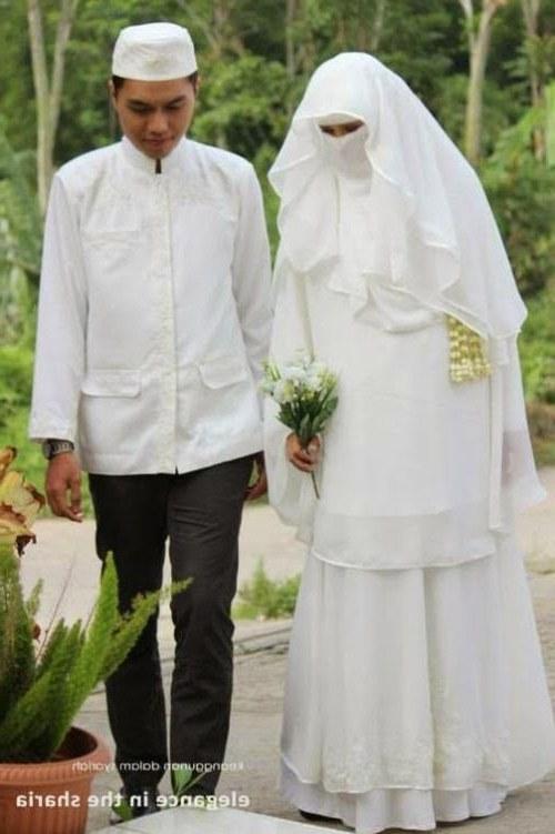 Design Baju Pengantin Muslimah Bercadar 87dx Sewa Baju Pengantin Muslimah Syari