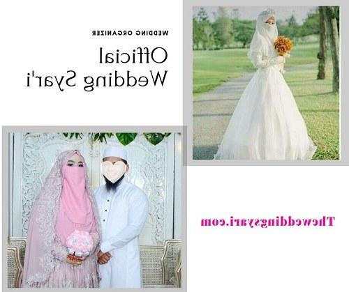 Design Baju Pengantin Muslimah Bercadar 8ydm Gaun Pernikahan Syari Untuk Muslimah