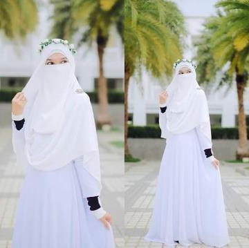Design Baju Pengantin Muslimah Bercadar E9dx Gambar Gaun Pengantin Muslimah Bercadar