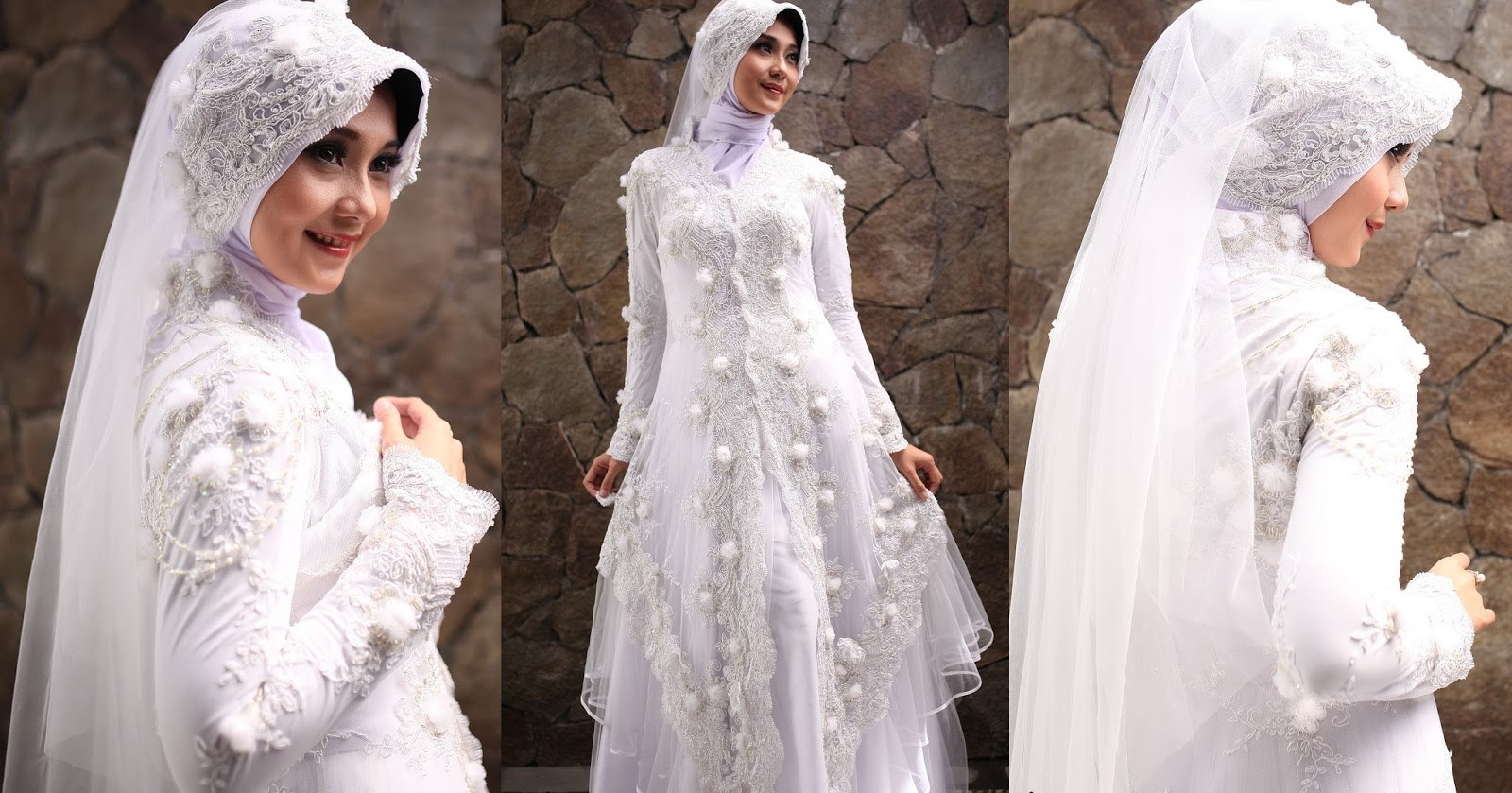Design Baju Pengantin Muslimah Bercadar E9dx Memilih Baju Pengantin Untuk Muslimah Galeh Aji