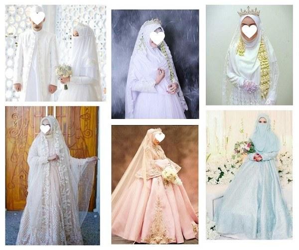 Design Baju Pengantin Muslimah Bercadar Q5df Gaun Pernikahan Syari Untuk Muslimah