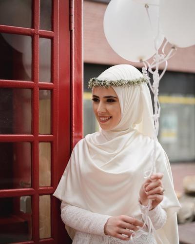 Design Baju Pengantin Muslimah Bercadar S1du Ingin Tampil Cantik Dan Elegan Di Hari Pernikahanmu Kenakan