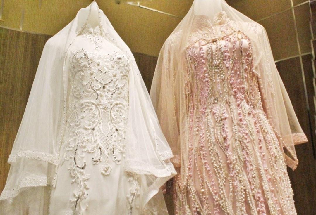 Design Baju Pengantin Muslimah Bercadar T8dj Laksmi Muslimah solusi Sewa Busana Pengantin Muslimah Syar