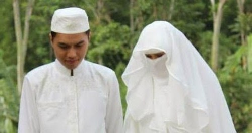 Design Baju Pengantin Muslimah Bercadar Tldn Dian Salon Rias Pengantin Profesional & E Stop Wedding