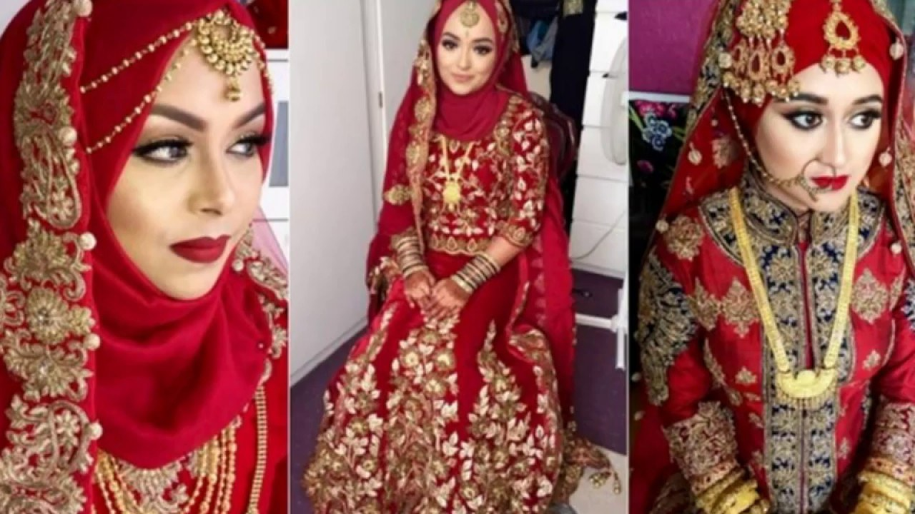 Design Baju Pengantin Muslimah Bercadar Zwdg Baju Pengantin Muslimah Ala India