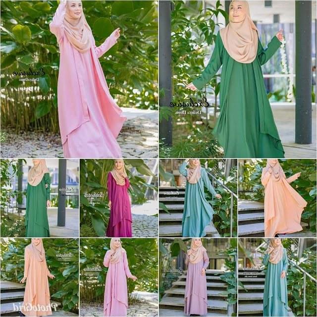 Design Baju Pengantin Muslimah Elegan E9dx Candy Shoppaholic Koleksi Hari Raya 2019 Baru Tengok