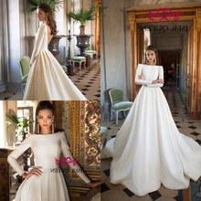 Design Baju Pengantin Muslimah Elegan Xtd6 Popular Elegant Muslim Wedding Dress Buy Cheap Elegant