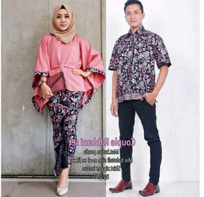 Design Baju Pengantin Muslimah Rabbani T8dj Jual Baju Couple Batik Kebaya Sarimbit Rabbani Set Kab Bandung Hijab Fashion