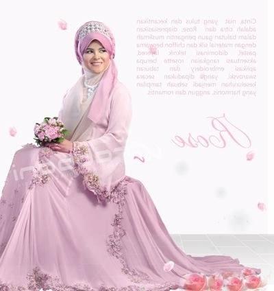 Design Baju Pengantin Muslimah Rabbani Zwd9 Indonesia islamic Wedding Muslim Couple