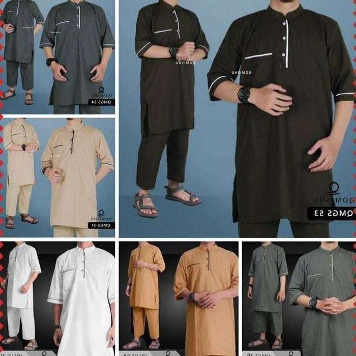 Design Baju Pengantin Pria Muslim Irdz Jual Baju Gamis Pria Muslim Koko Pakistan Setelan Lengan Pendek Qomishu Dki Jakarta Yudhi Ardiyanto