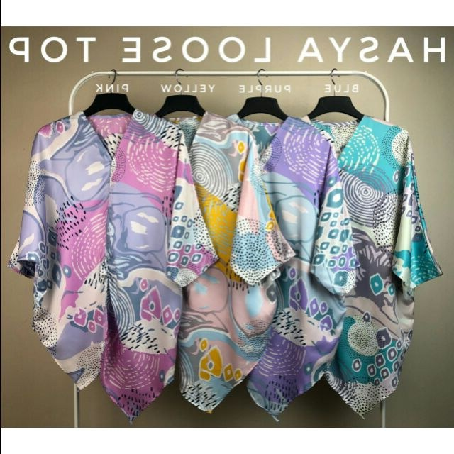 Design Baju Resepsi Pernikahan Muslimah Ffdn Plussize Hasya Loose top Size 50 64
