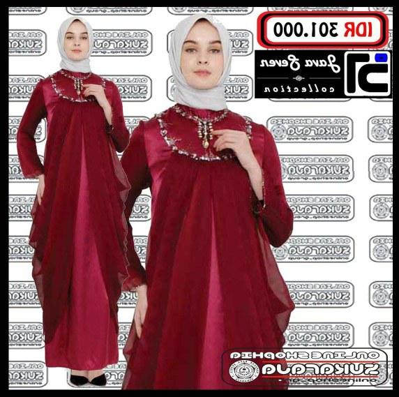 Design Baju Resepsi Pernikahan Muslimah Txdf Jual Gamis Hijab Kaftan Abaya Busana Muslimah Baju Tunik Jilbab Murah Kota Bandung Clausass Gamis Wanita Rm