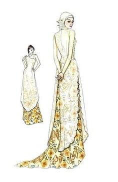 Design Cara Membuat Gaun Pengantin Muslim 9fdy 277 Best Kebayas Images