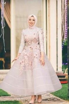 Design Cara Membuat Gaun Pengantin Muslim Budm 44 Best Gaun Kembang Images In 2019