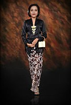 Design Contoh Baju Pengantin Muslim Fmdf Kebaya