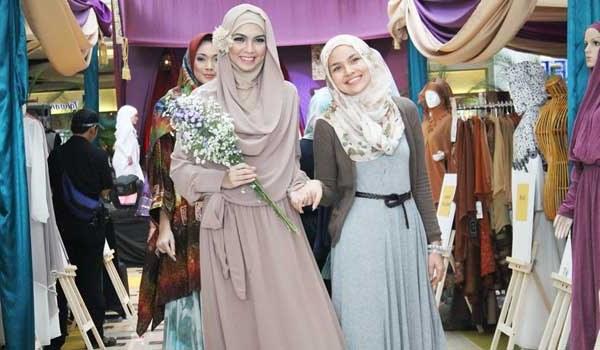 Design Contoh Gaun Pengantin Muslim E9dx This is Me Fashion Chapter 3 Muslimah In Fashion Retro