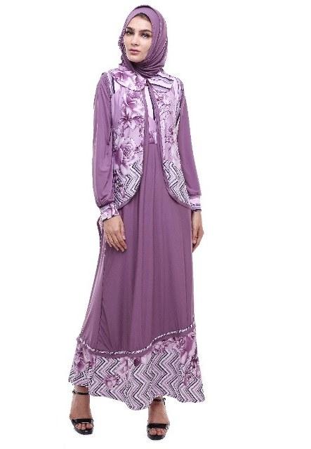 Design Contoh Gaun Pengantin Muslim Etdg 17 Model Baju Batik Muslim 2018 Untuk Remaja Muslimah