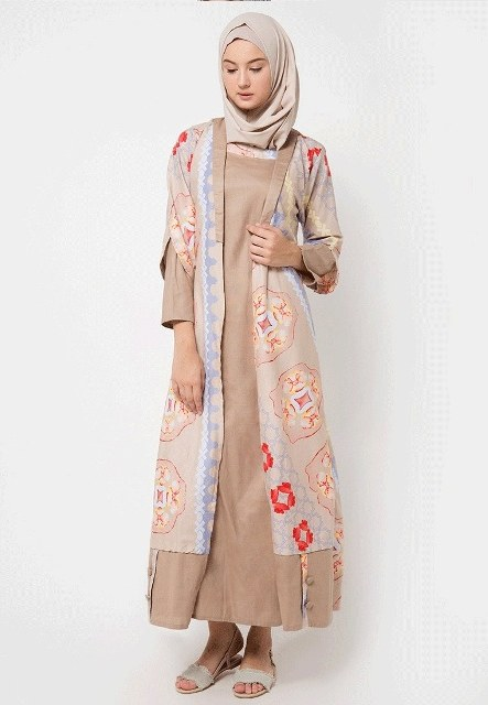 Design Contoh Gaun Pengantin Muslim Mndw 17 Model Baju Batik Muslim 2018 Untuk Remaja Muslimah