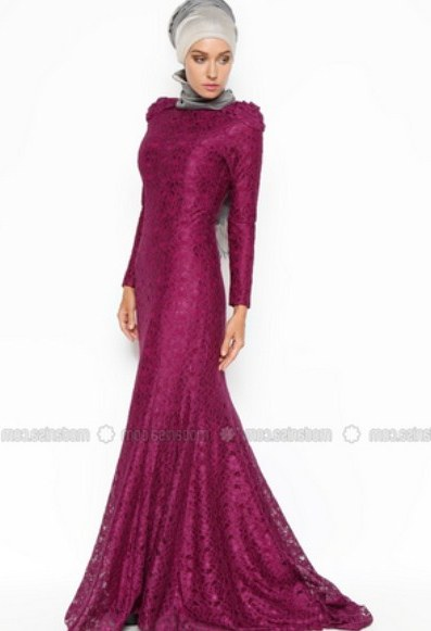 Design Contoh Gaun Pengantin Muslim Zwd9 30 Model Baju Gamis Duyung Kekinian Fashion Modern Dan