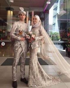 Design Fitting Baju Pengantin Muslimah 4pde 222 Best songket Fashion Images In 2019
