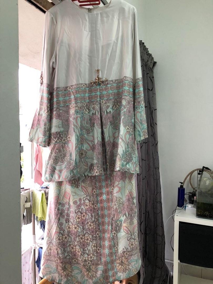 Design Fitting Baju Pengantin Muslimah 87dx Ariani Baju Kurung