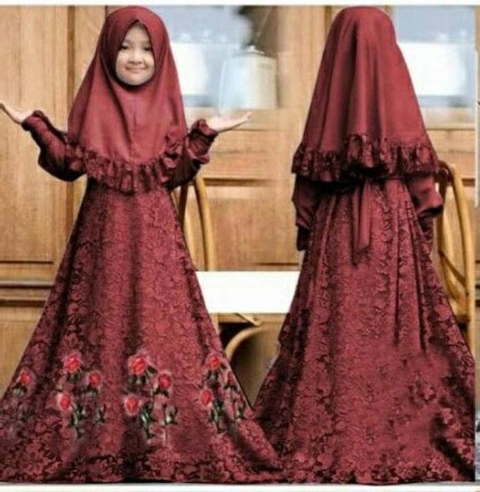 Design Fitting Baju Pengantin Muslimah Q5df Jual Baju Muslim Syari Gamis Anak Herbie Kids Od Jersey Mix Brukat Fit Dki Jakarta Galleryzulaikha