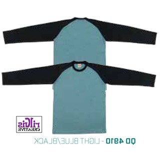 Design Fitting Baju Pengantin Muslimah Rldj Raglan Tshirt Long Sleeve Persatuan Muslimah Light Blue Black Qd4910
