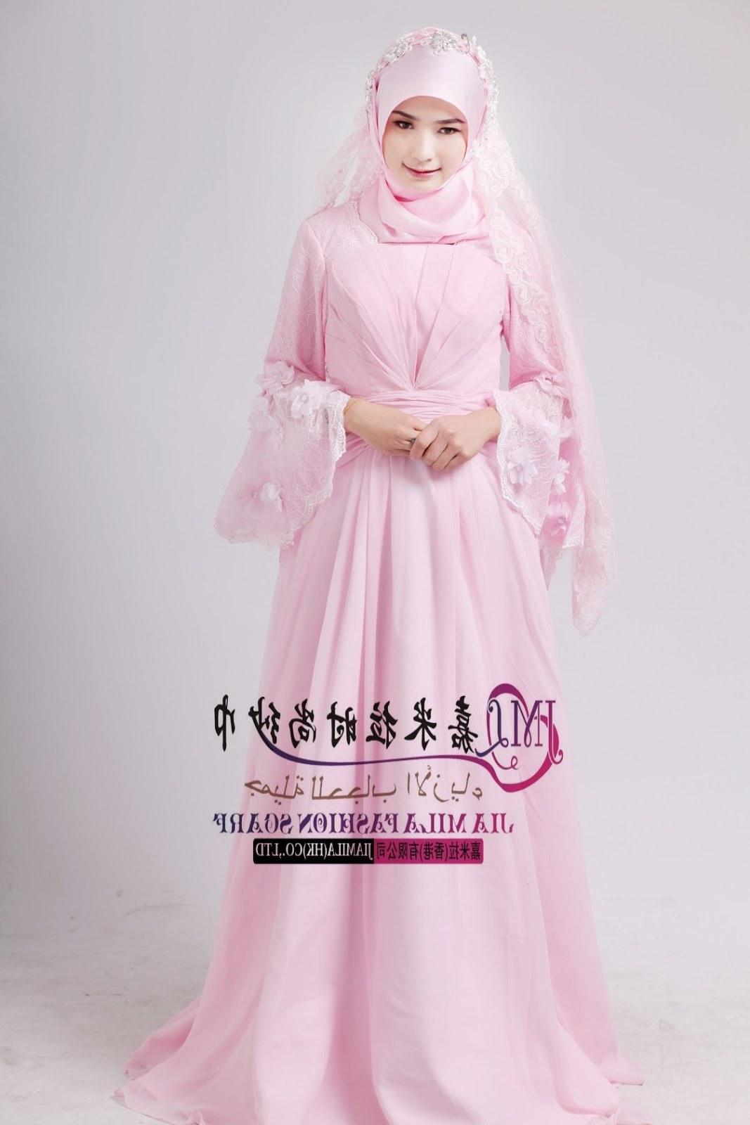 Design Foto Gaun Pengantin Muslimah Dddy Contoh Desain Baju Pengantin Muslimah Desain Pernikahan