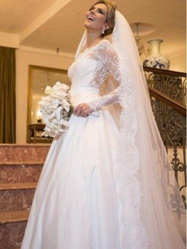 Design Gaun Pengantin 2016 Muslim Xtd6 List Of Gaun Pengantin Muslim Wedding Dressses Long Sleeve