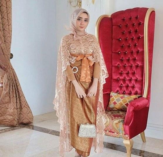 Design Gaun Pengantin Brokat Muslim Fmdf Model Baju Batik Brokat Terbaru